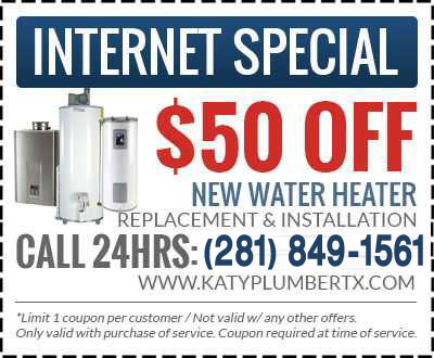 katy water heater discount